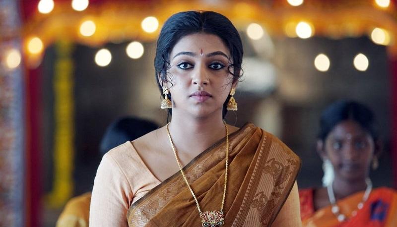 Lakshmi Menon in the style of Nayanthara and Trisha