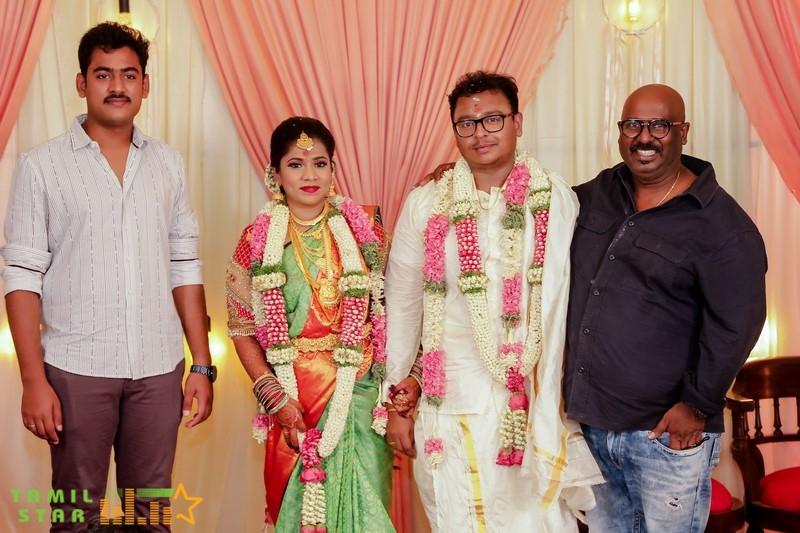 Cinematographer GK Vishnu Wedding Photos (2)