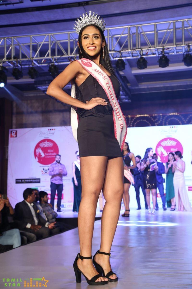 Deepthi Crowned Miss Tamilnadu 2020 Photos (33)
