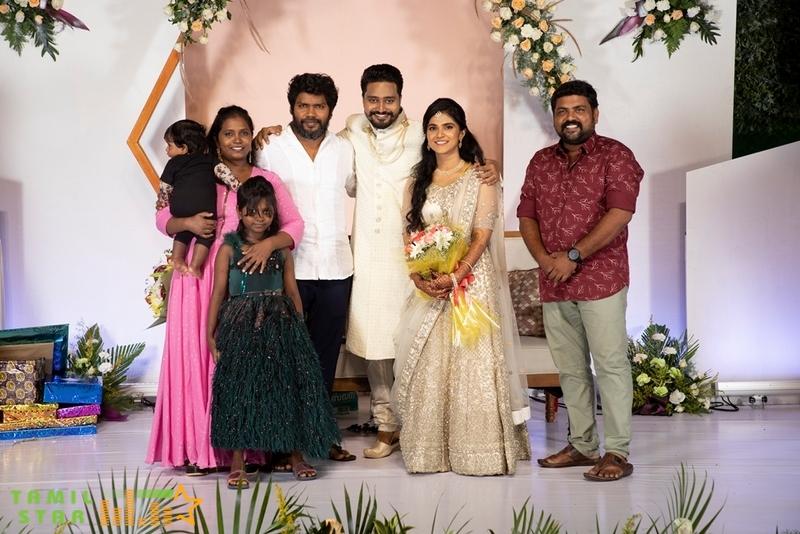 Editor Selva RK  Anitha Wedding Reception Pics (6)
