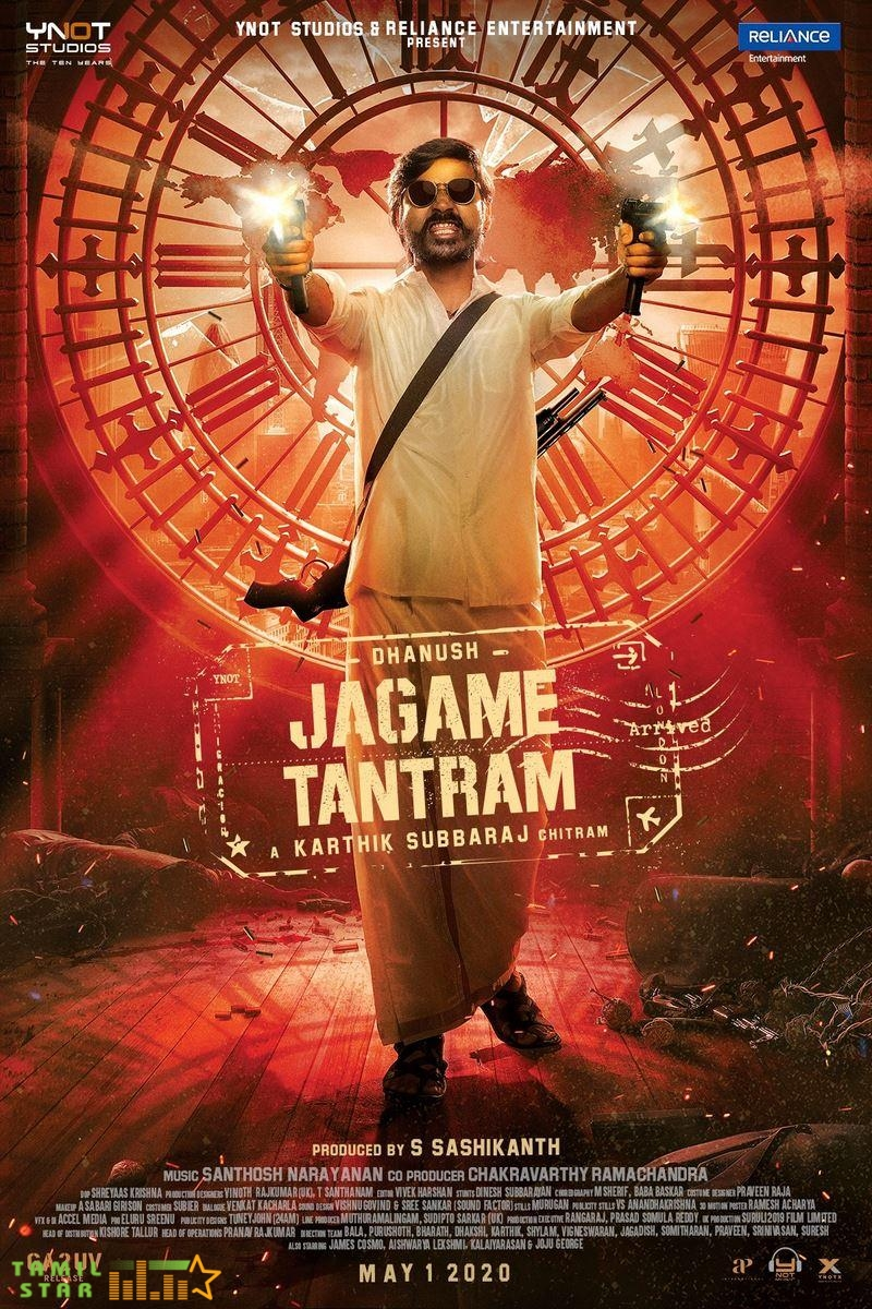 Jagame Tantram First Look