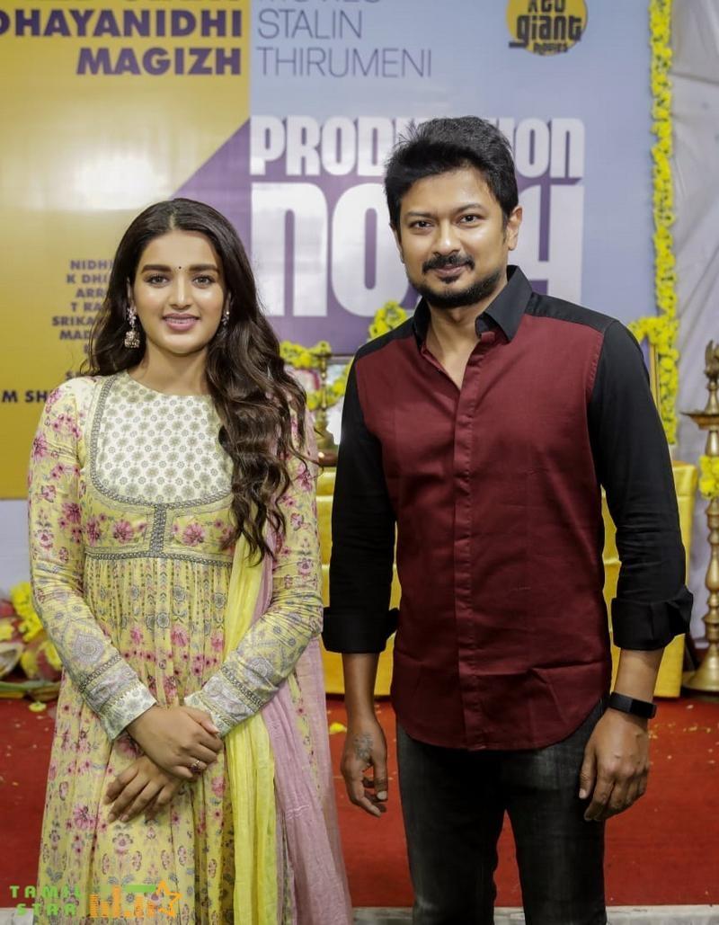Udhayanidhi Stalin and Magizh Thirumeni New Movie Launch (5)