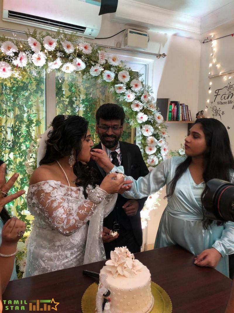 Vanitha Vijayakumar and Peter Paul Marriage Photos (17)